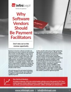 why software vendors should be payment facilitators