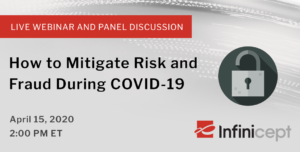 tips for mitigating risk and fraud during COVID-19 webinar invitation