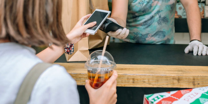 Mobile tap payment
